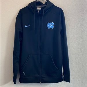 Nike UNC Tarheels zip-up hoodie